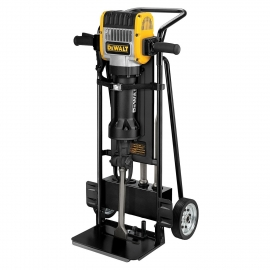 DEWALT 2100W 30Kg 28mm HEX PAVEMENT BREAKER W/ TROLLEY