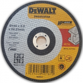 Dewalt Metal Cutting Discs