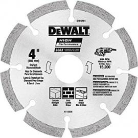 "Dewalt Diamond Blade 4"" Segmented"
